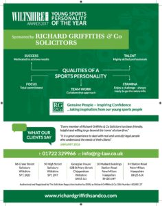 Young Sports Personality of the Year Sponsors