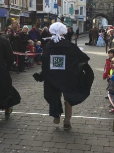 Pancake Race for the Trussell Trust